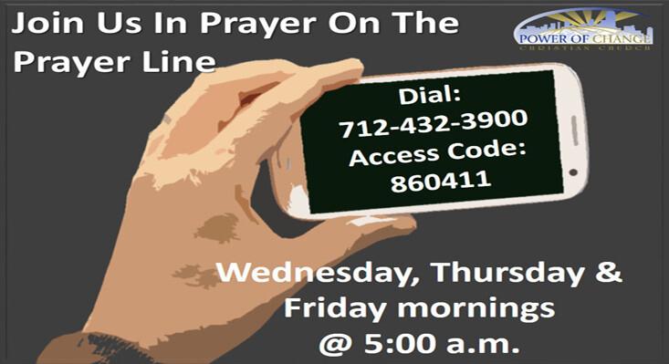 Regional Prayer Line