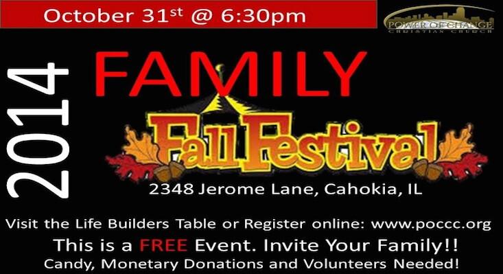 Family Fall Festival 2014