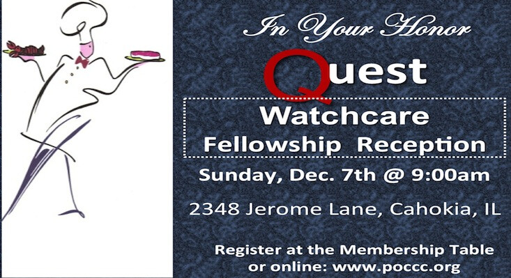 Quest Watchcare Fellowship Reception