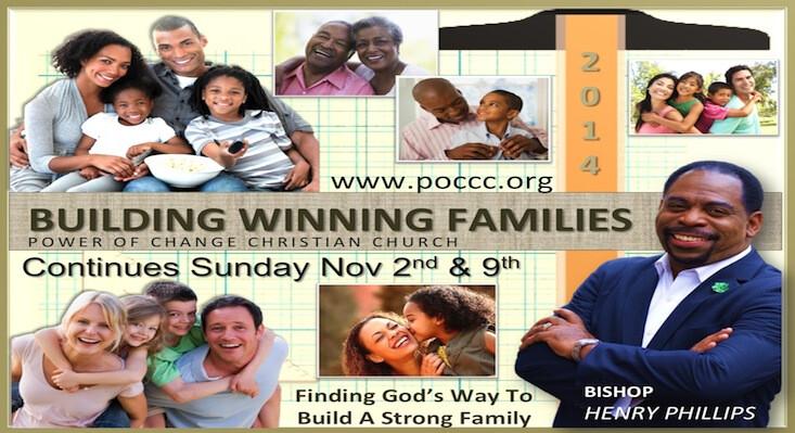 Building Winning Families - October - November 2014 Sermon Series