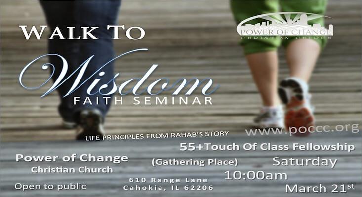 Walk to Wisdom Faith Seminar