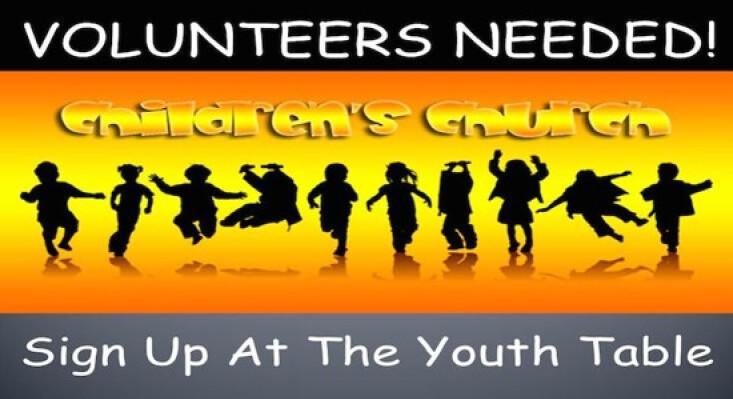 Children's Ministry Volunteers