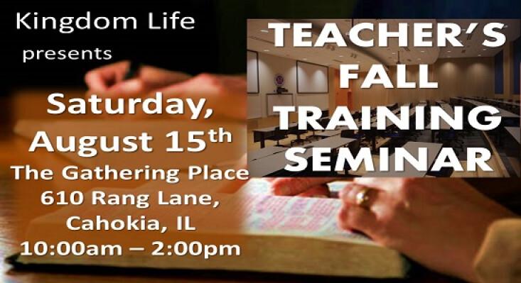 Fall Training Seminar