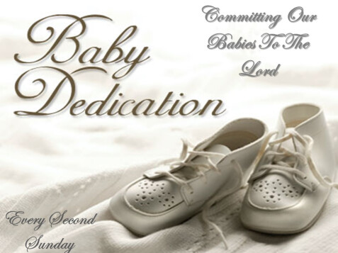 Power of Change › Baby Dedication