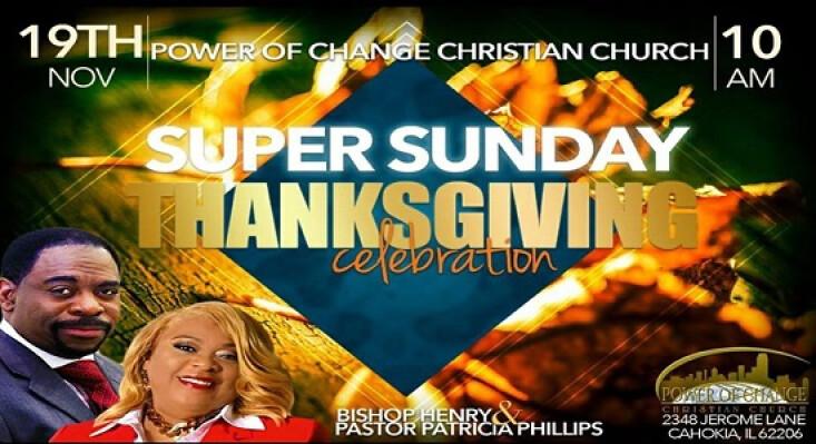 Super Sunday Thanksgiving